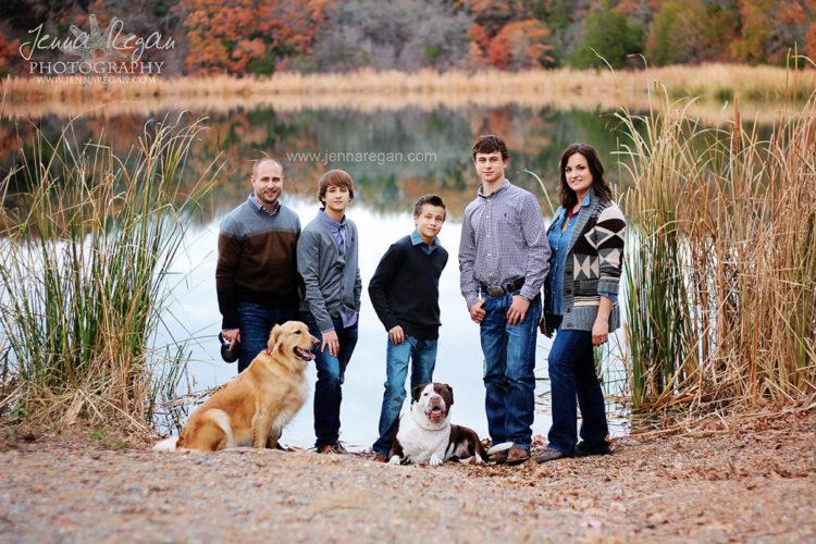 family and dog photographer mckinney texas