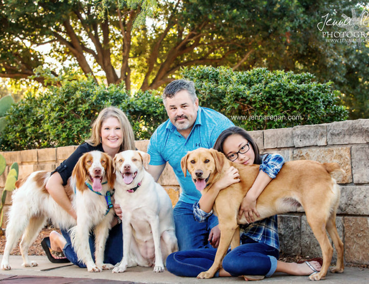 Family Photos with Dogs | Dallas Pet Photographer