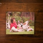 album from a dallas pet photography photo session with bassets