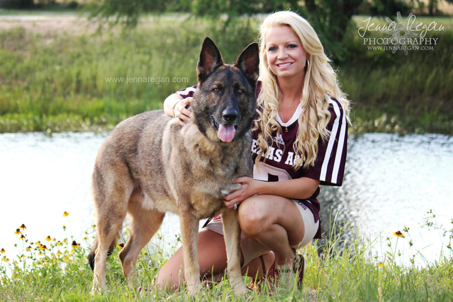 Aggie Dog Photography Session | College Station TX