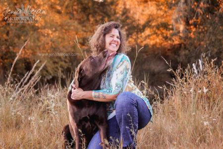 fall dog photography dallas texas