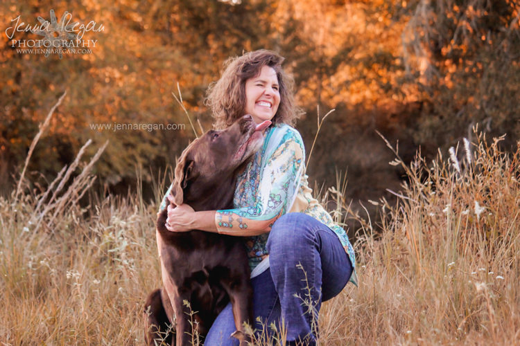 fall dog photography dallas texas