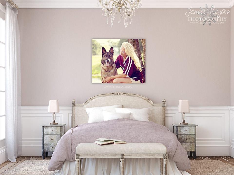 Wall Art | Dallas, TX Pet Photography | Jenna Regan Photography