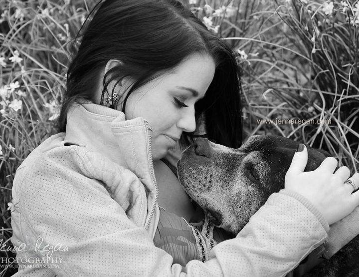 Black and White Pet Photography | Dallas, TX