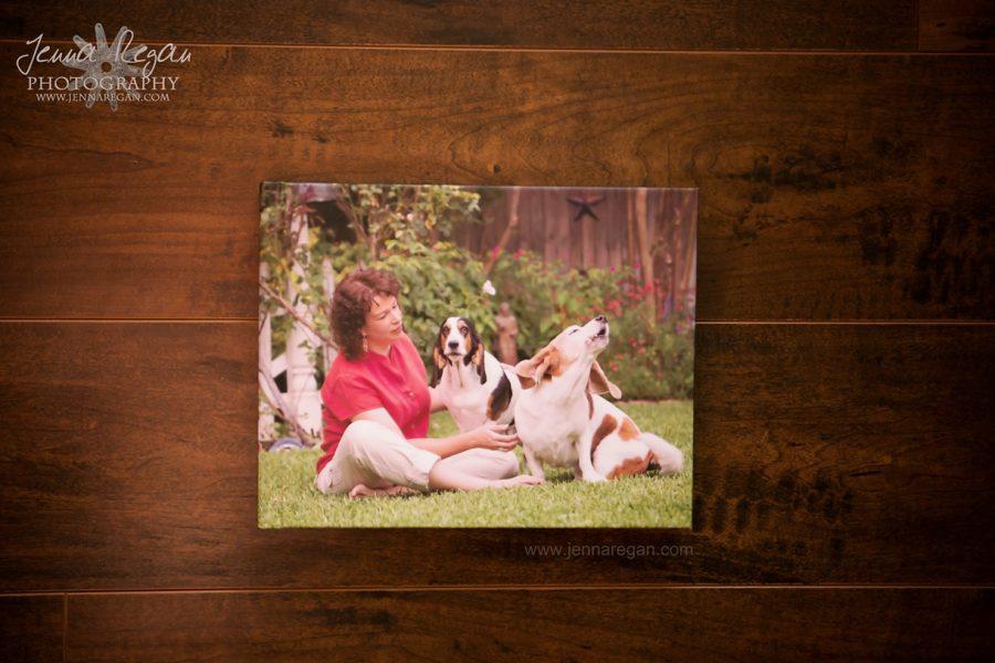 A Peak Inside a Dog Photography Album | Dallas Pet Photography