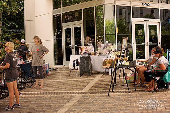 vendors at dallas dog adoption event