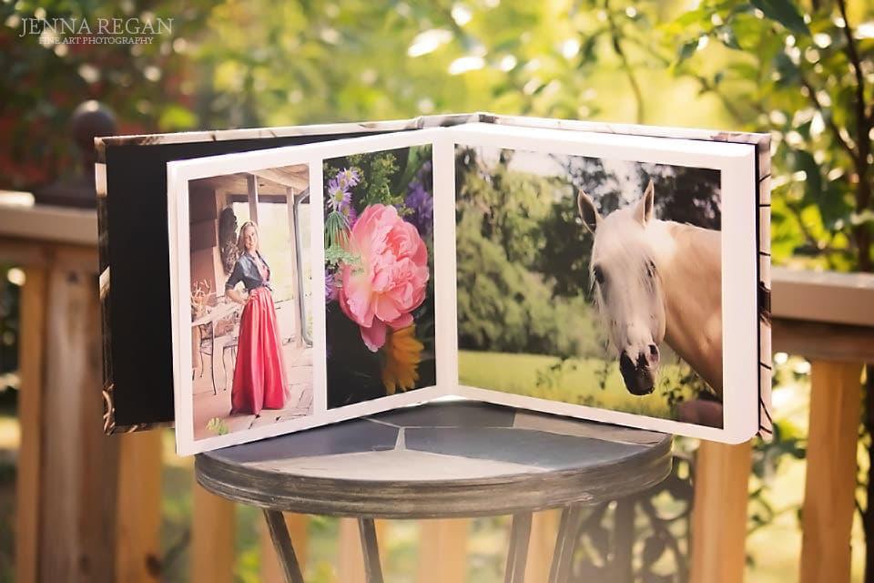 equine photography coffee table album