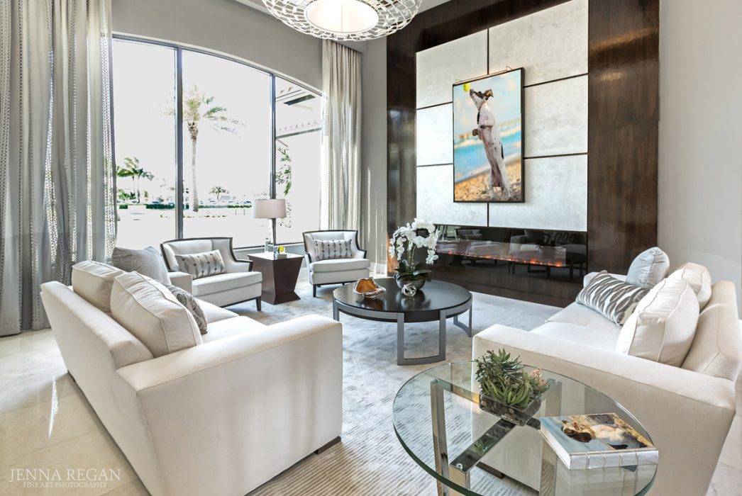 home interior decorated with pet portraits by dallas dog photographer jenna regan
