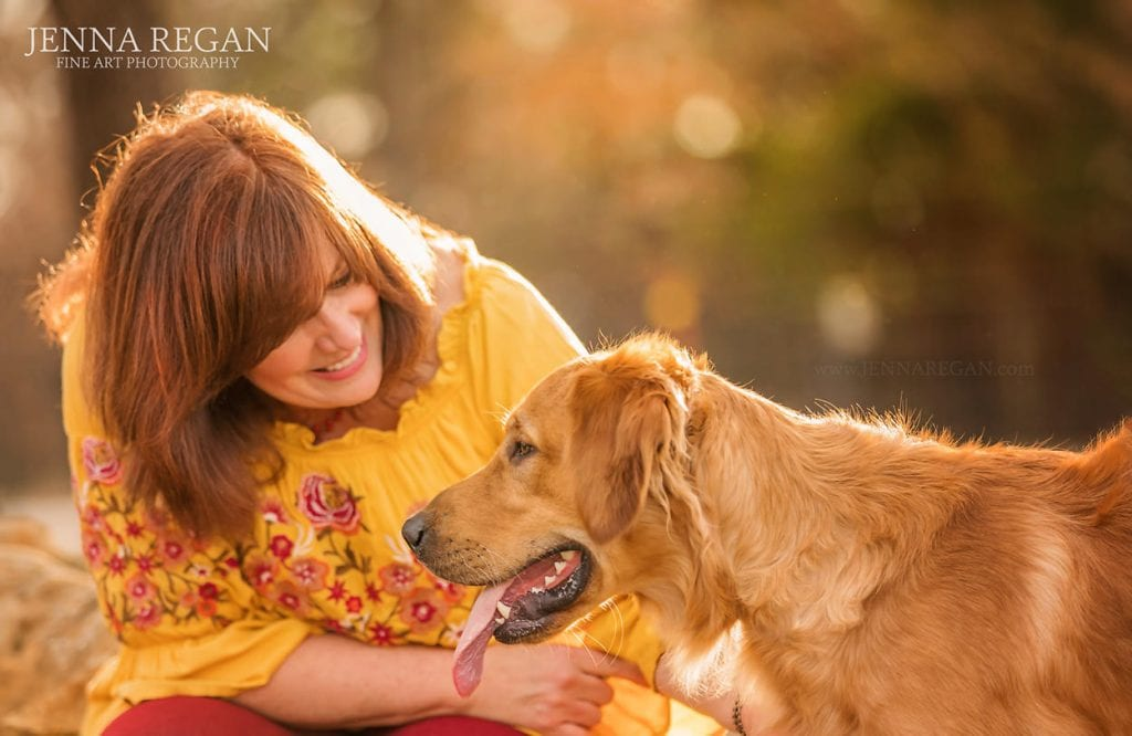outdoor dog photography on ranch in north texas